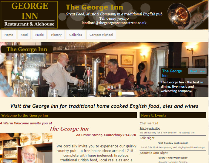 The George Inn - Stone Street Canterbury