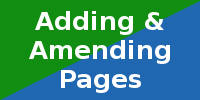 CiK CMS websites allow easy page creation and amendment